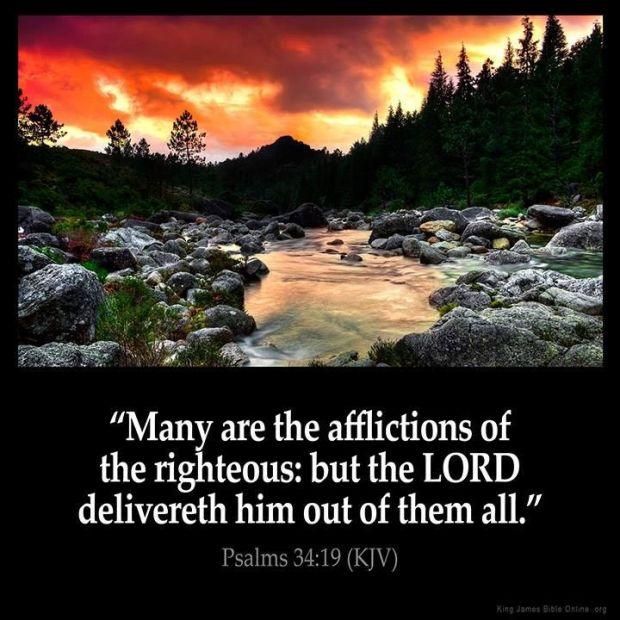 Many are the afflictions