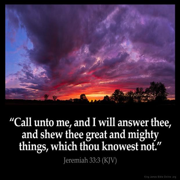 Jeremiah 33-3