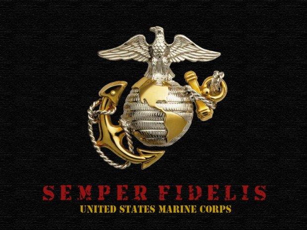 marine corp emblem