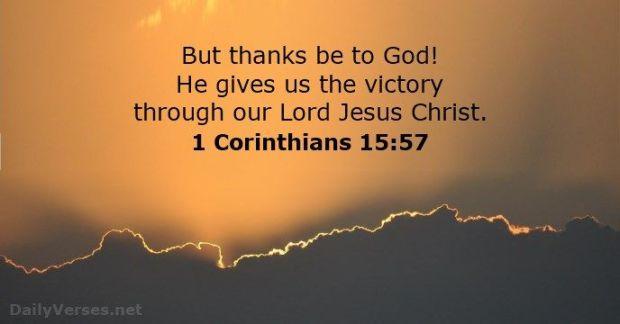 victory through jesus